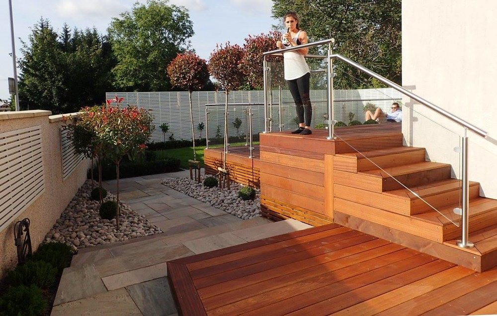 Balau Decking, Glasgow