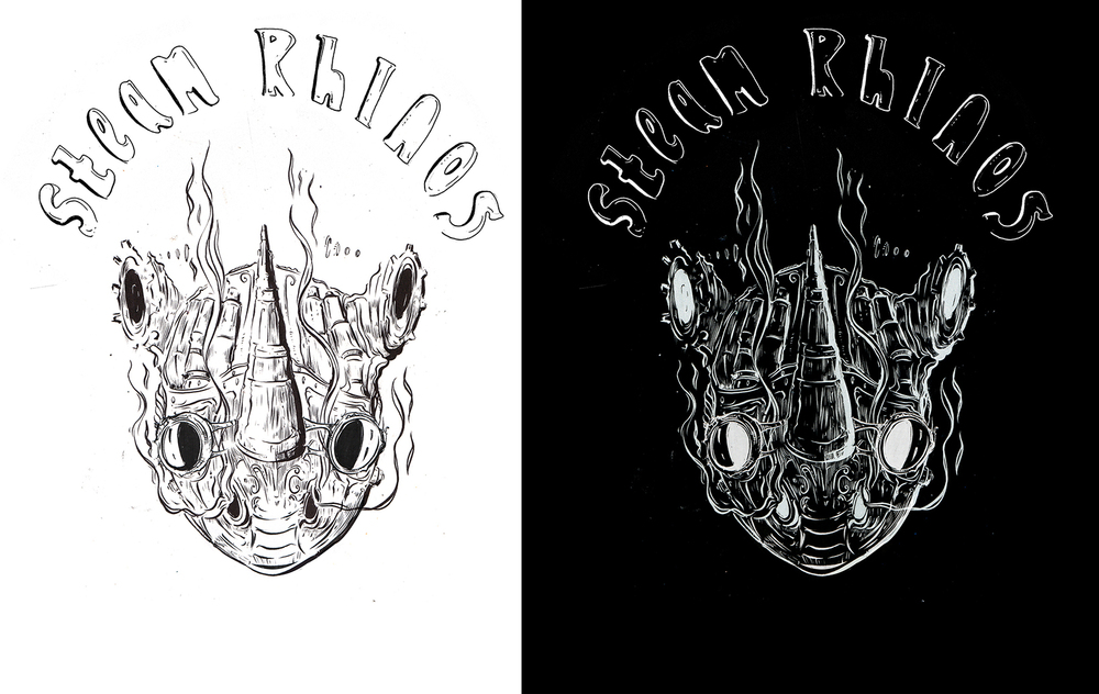 Steam Rhinos - Beer Label Design 2016