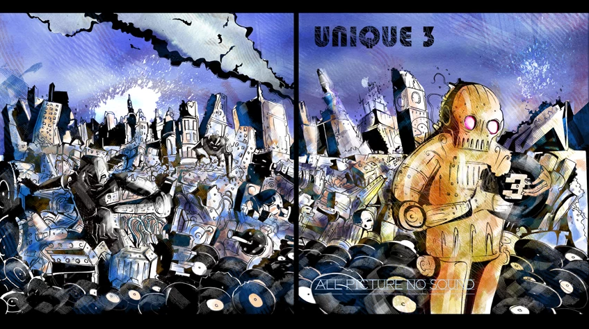 Unique Three Album Cover 2012