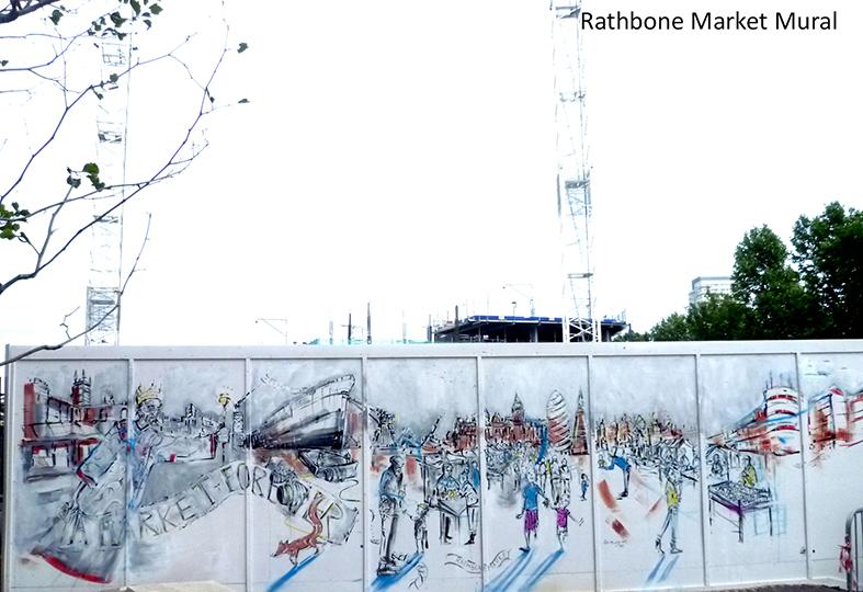 Rathbone Market Mural Painting