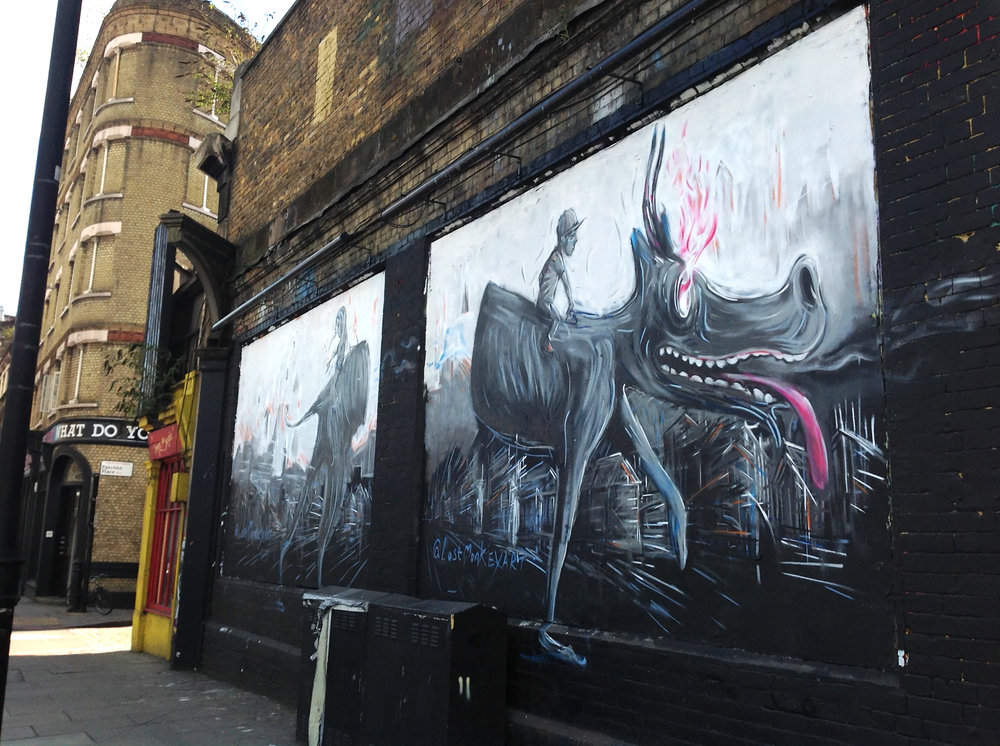 Shoreditch Art Wall