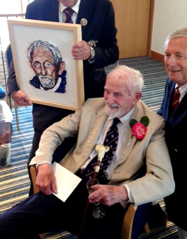 Pip celebrates his 100th birthday.
