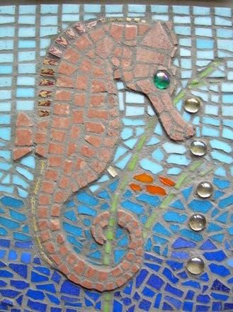 Barbara's fabulous seahorse.