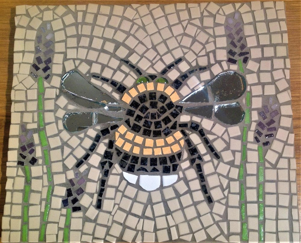 Mosaic Bee students work.JPG