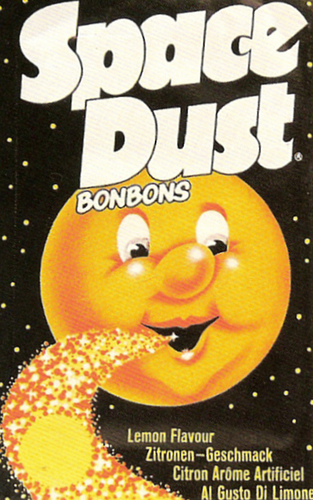 Fizzy nostalgia - a packet of Space Dust (now tragically called Fizz Wizz)