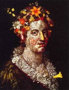 Using nature's bounty for beautiful skin -   'Beauty' by Arcimboldo
