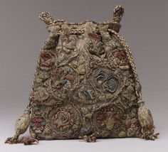 Fragrant 'Sweet-Bag' used to keep clothes and linens fresh, usually made from silk and ornately decorated