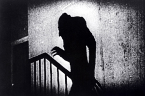 'Late for a date with the Manicurist' Image of 'Nosferatu' – a classic chiller
