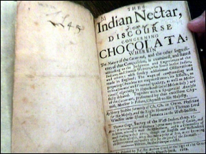 The History of Chocolate – Henry Stubbs (late 17c) (pic credit: bbc.co.uk)