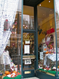 Rococo shop front