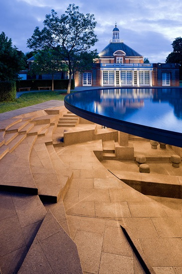 What a corker! Serpentine Pavilion by Herzog+de Meuron and Ai Wei wei (Photo credit: Iwan Baan)