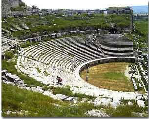 Ancient Olympics arena