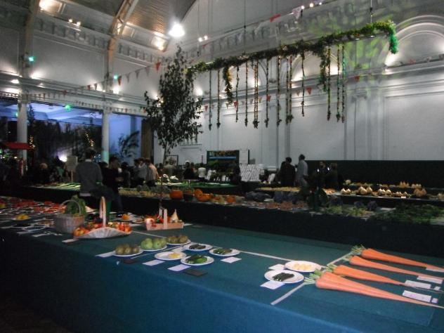 RHS Harvest Festival, London Abundant vegetable medley!!