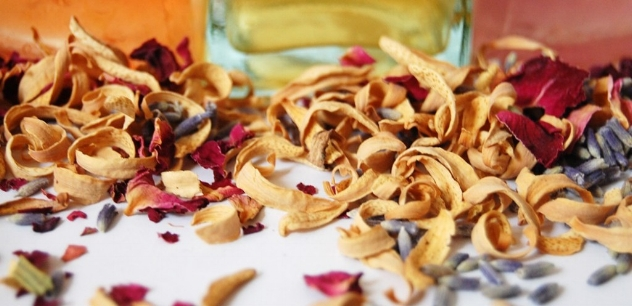 flower petals and herbs were used in fragrant toilette waters and cosmetics