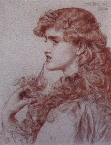 A typical teen? Petulant pose of 'Proud Maisie' by Frederick Sandys