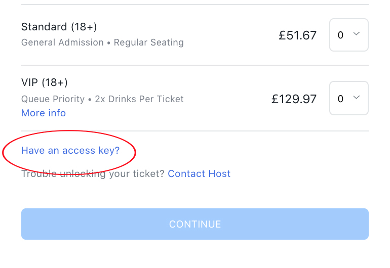 How to Book? - To book your House Seats, choose from the available show dates and enter your ACCESS CODE in the field below the visible ticket types to unlock the Guest Tickets.All event terms and conditions apply to your purchase and once your order has been confirmed, tickets are non-refundable, and non-exchangeable. Please check your basket carefully before checking out.