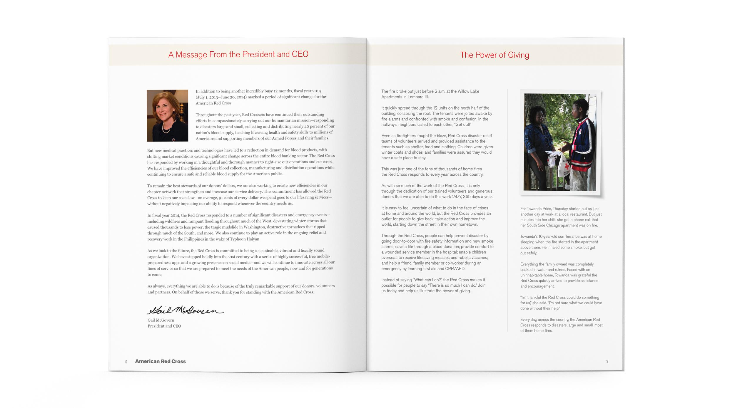 American red cross annual report sharyn lange red cross annual report spread 2g 1betcityfo Image collections