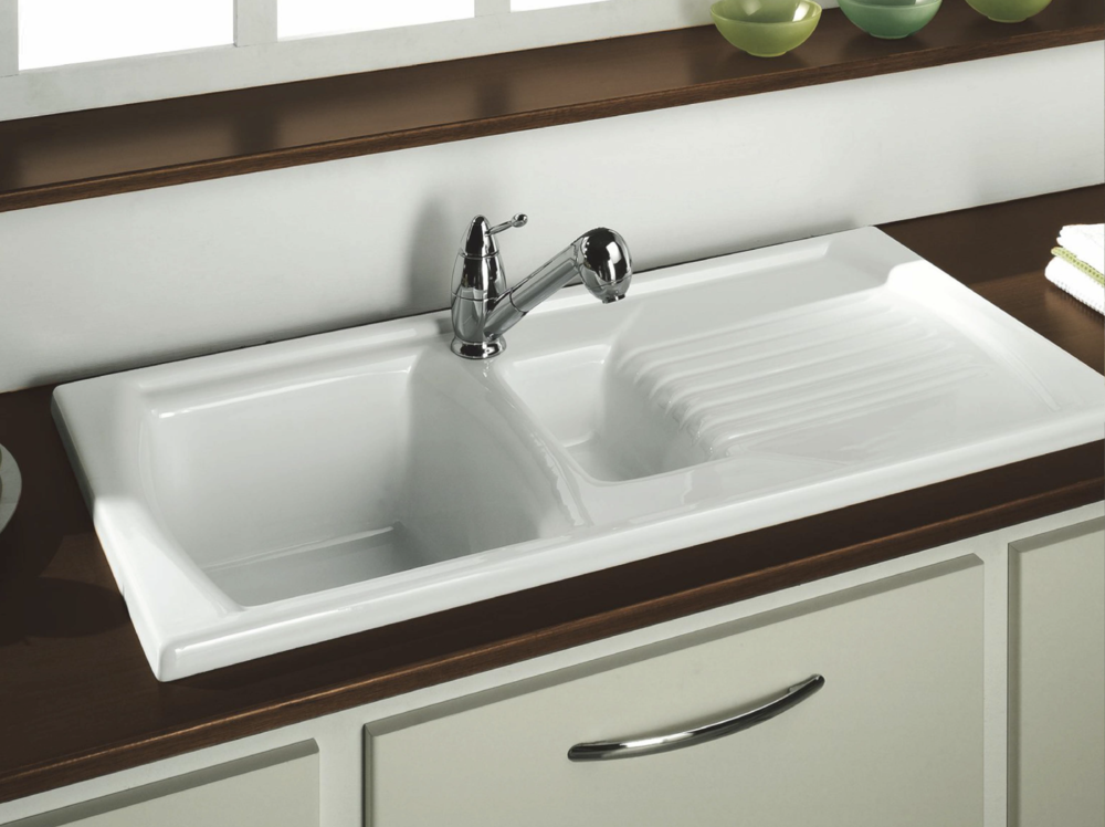Lustitano Inset Sink 1 ½ Bowl