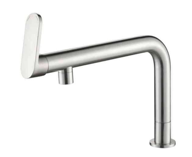 Murray  Modern Twist End Tap PRCG1027 Chrome PRBG1027 Brushed