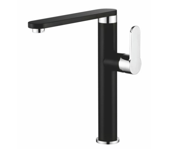 Tanana  Modern Side Lever Tap PRBG1028 BLACK FINISH
