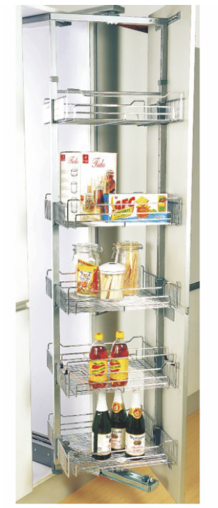 Centre Fix Swing Out Rotating Larder Soft Close