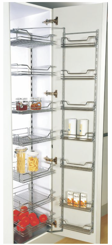 Deluxe Pantry Larder Soft Close