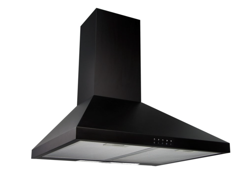 UT06-60B Black Chimney Hood