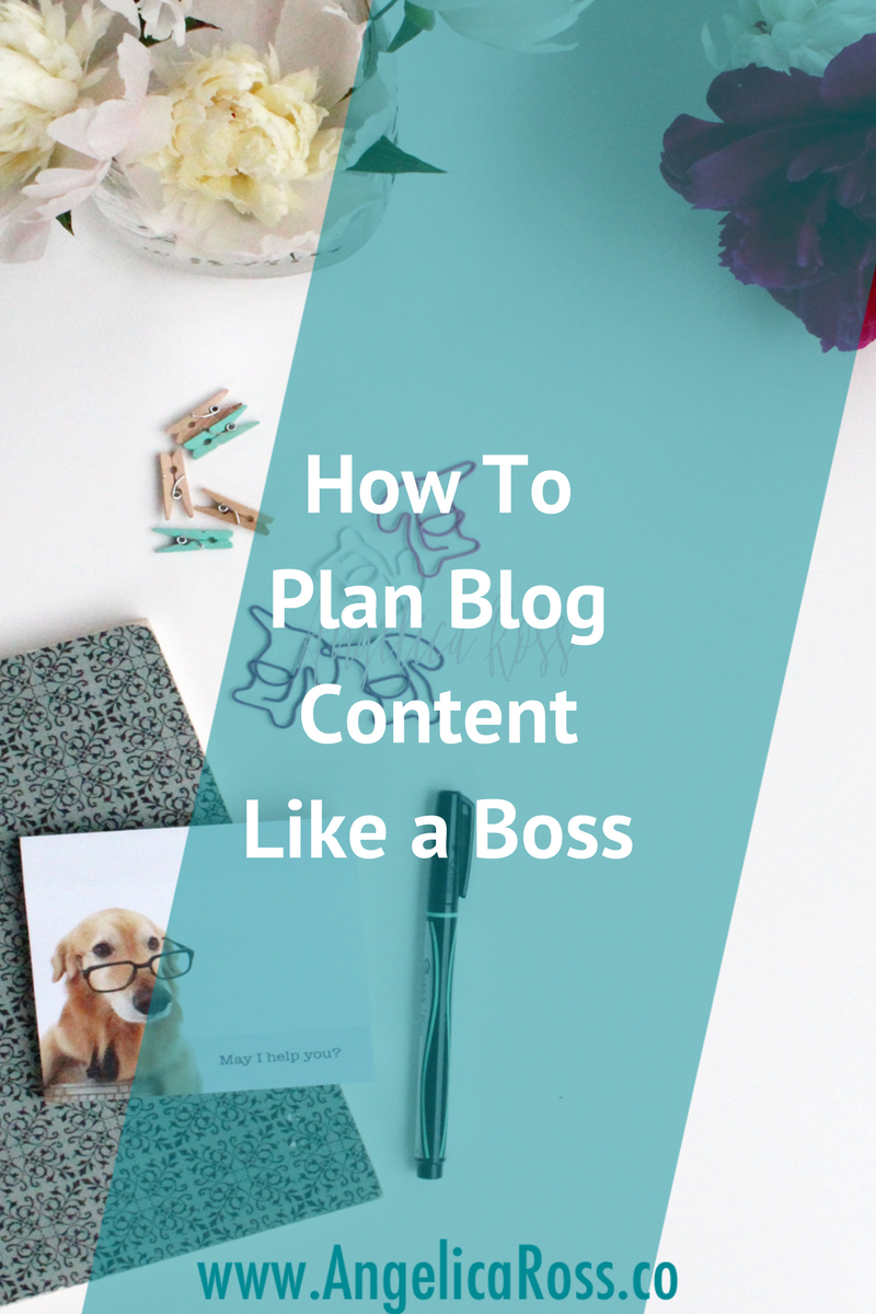 You seriously need a plan if you're going to effectively blog. It's seriously just two insanely-easy steps.