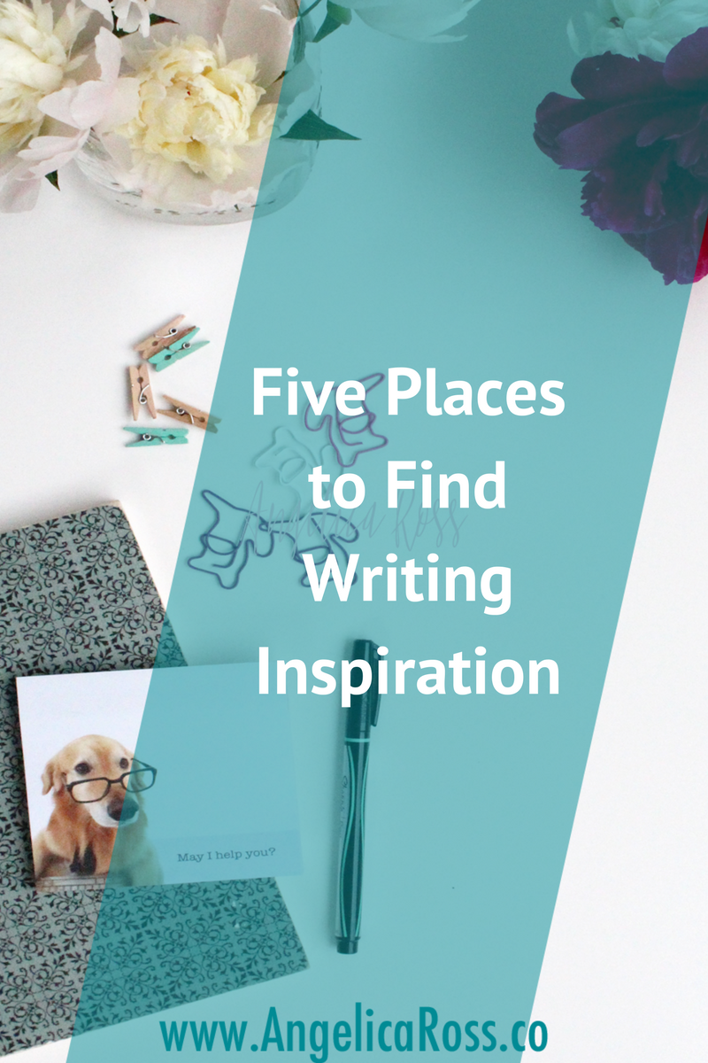 It's so hard to find inspiration for writing sometimes. There are some great ideas here to give you a boost when you have writer's block.