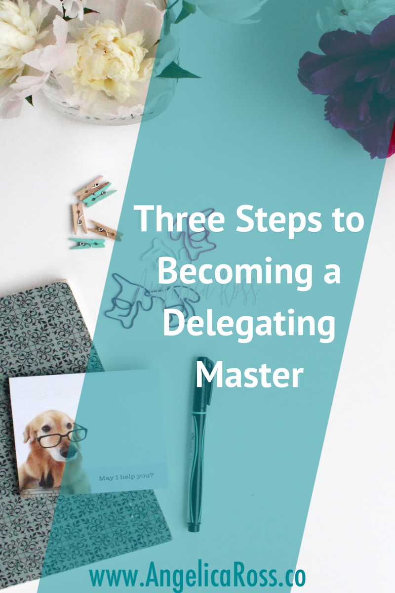Delegating doesn't have to be a hard and painful process. Love these steps to help you let go and delegate in your business, especially when you want to do it all yourself.