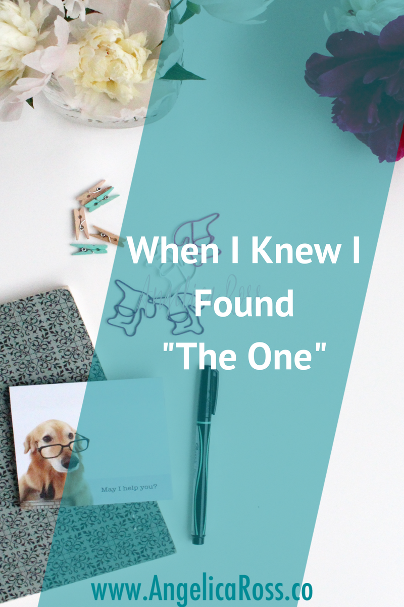 """Everyone has a story about when they knew they found """"the one."""" The one thing they're meant to do. The one true mission that makes their heart flutter. What's your story?"""