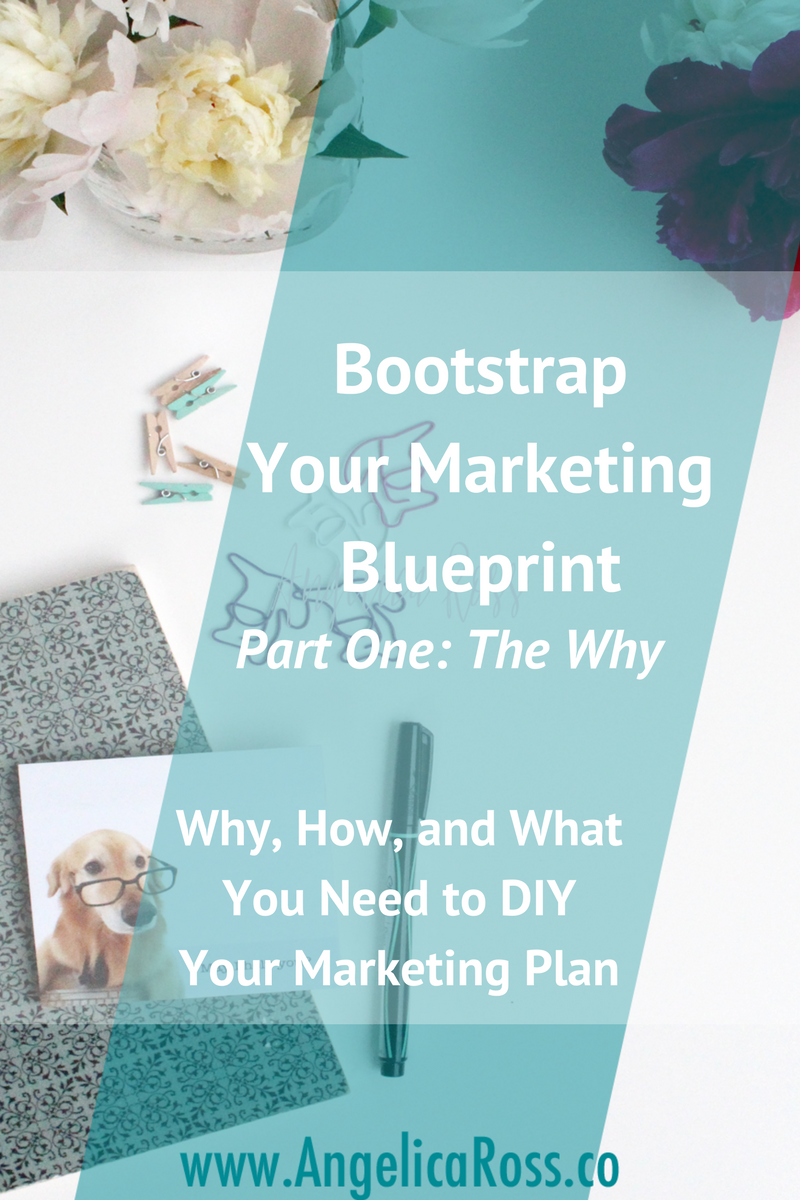 The Why of your Marketing Plan is super important. Learn why in Bootstrap Your Marketing Blueprint Why, How, and What You Need to DIY Your Marketing Plan