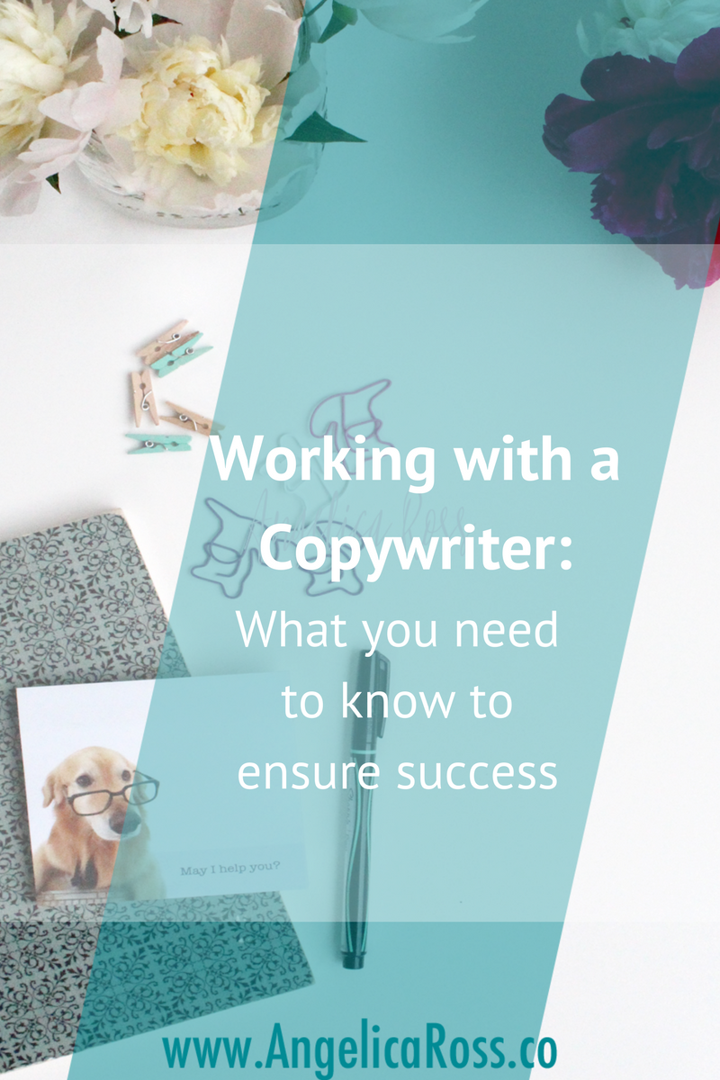 Working with a copywriter is easy when the expectations are all laid out from the beginning. Learn how to work with a copywriter successfully in 3 steps!