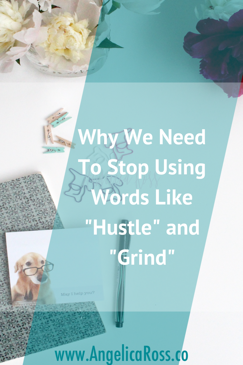 As entrepreneurs, the library of words that convey hard work needs an addition. What if you don't want to hustle or grind? What if you want to feel ease and flow? This post is for you.