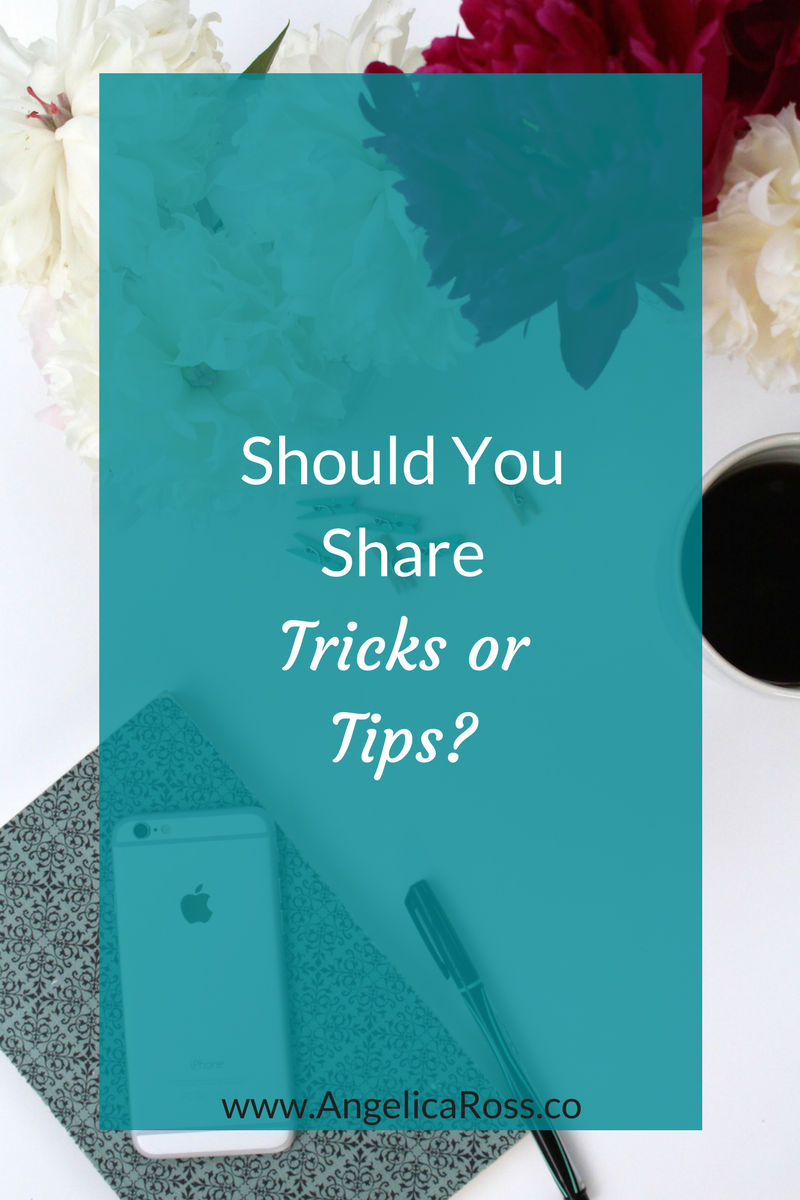 Should your business share tricks or tips?