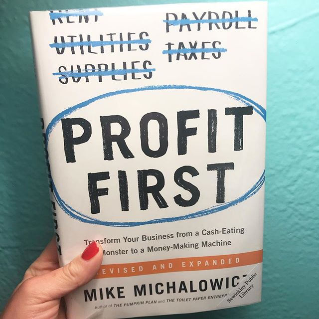 Book 17/24 — I need to set a new reading goal! . This was technically a reread so I don't know if it counts, but I wanted to implement Profit First for my finances and wanted a refresh on the system before I did anything. @mikemichalowicz is entertaining and it didn't feel like I was reading a business book (much less one focused on finance and profitability.) The Pumpkin Plan is another of his books you may consider if you want to learn how to grow the business into a prize-winning pumpkin. There are some interesting exercises to get you thinking bigger and like the best in your industry! . I really enjoyed the content and I'm looking forward to changing how I think of my business's profitability.