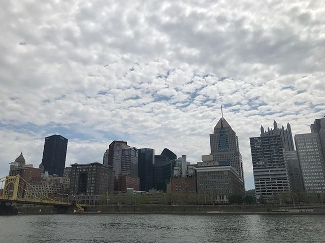 I have a thing for bridges. And Pittsburgh. And clouds. __ #latergram #bridgesofinstagram #pittsburgh #lovepgh