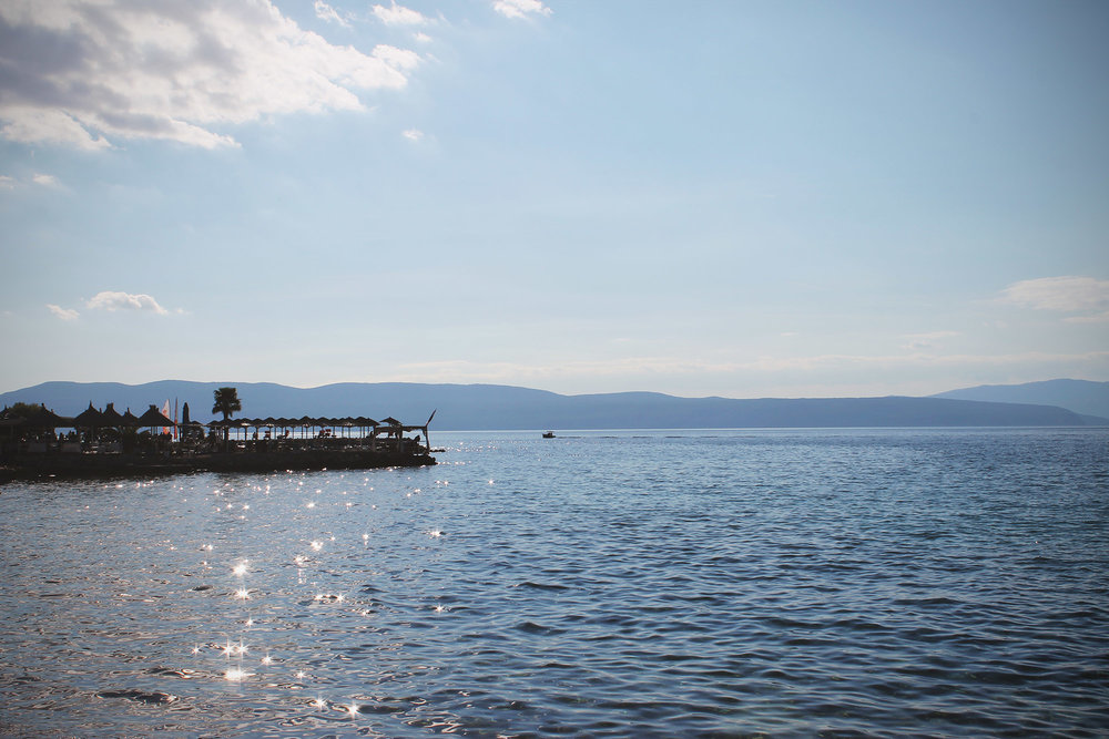 njivice and a beach bar with a really beautiful coffee & coctail spot