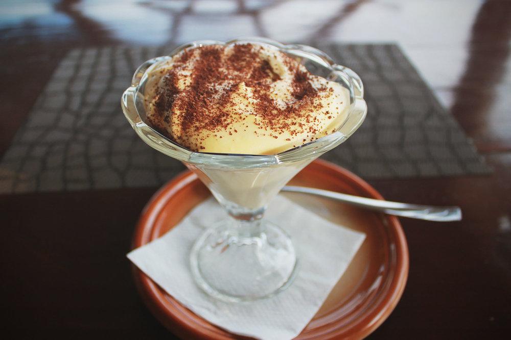 """hands down the best dessert on the island - tiramisu in konoba """"Porat"""" in little place Porat"""