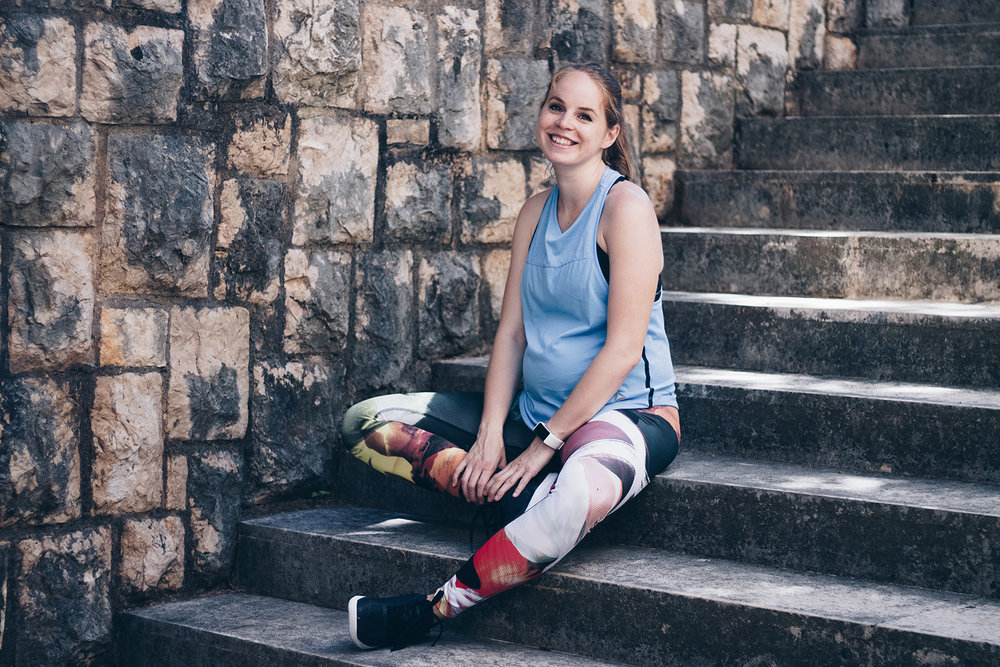 LEGGINGS:  REEBOK ACID FADE TIGHT  sneakers:  reebok CROSSFIT NANO 7.0