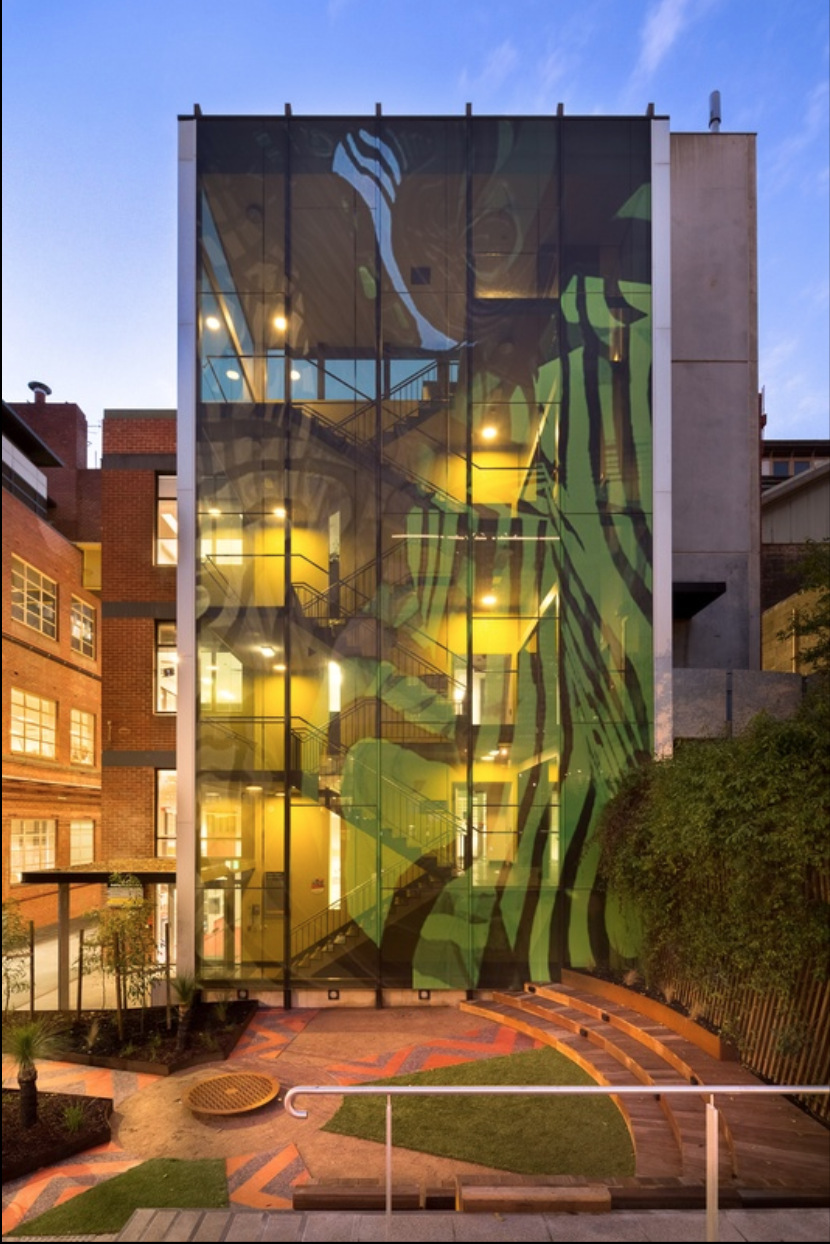 Ngarara Place at RMIT city campus by Greenaway Architects. Image: Jefa Greenaway