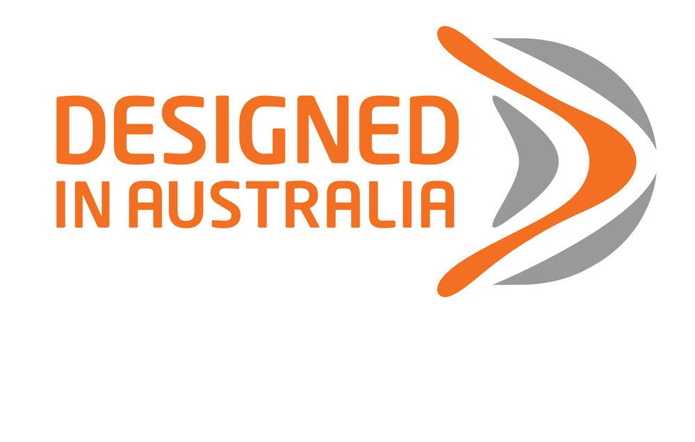 R-co's Designed in Australia brandmark. Source:  R-co