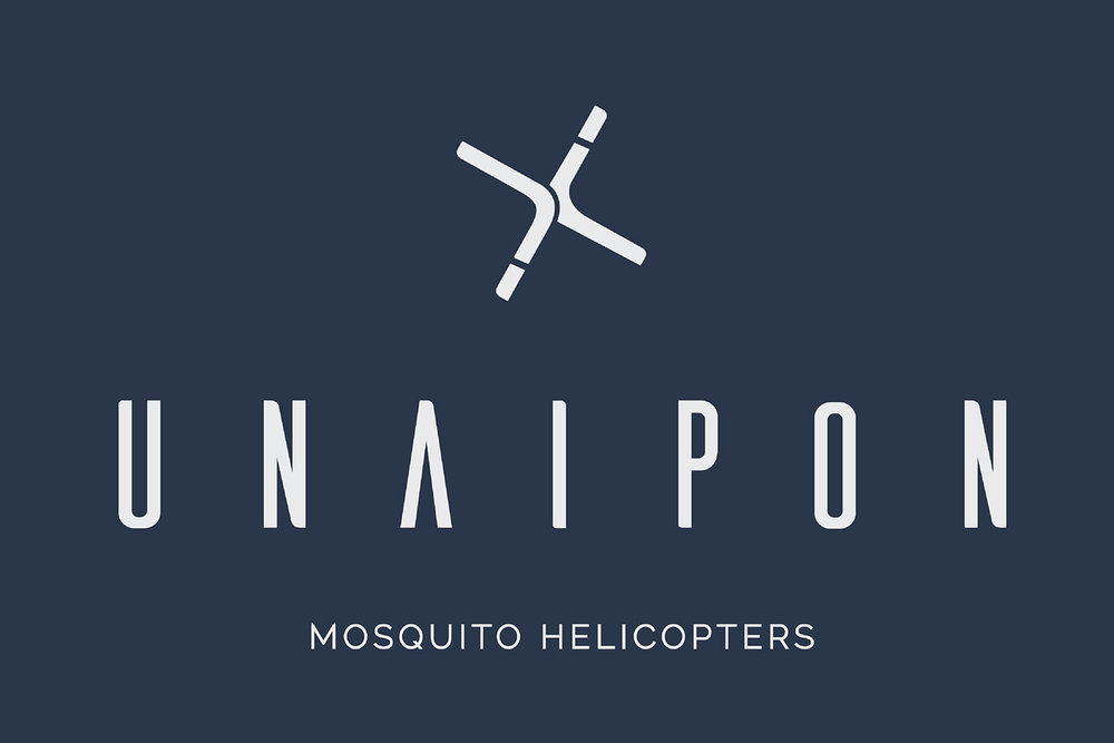 Unaipon Helicopter logo