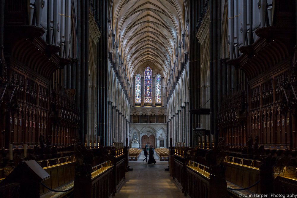 The Choir Salisbury Cathedral