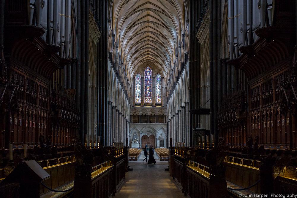 The Choir Salisbury Cathedral