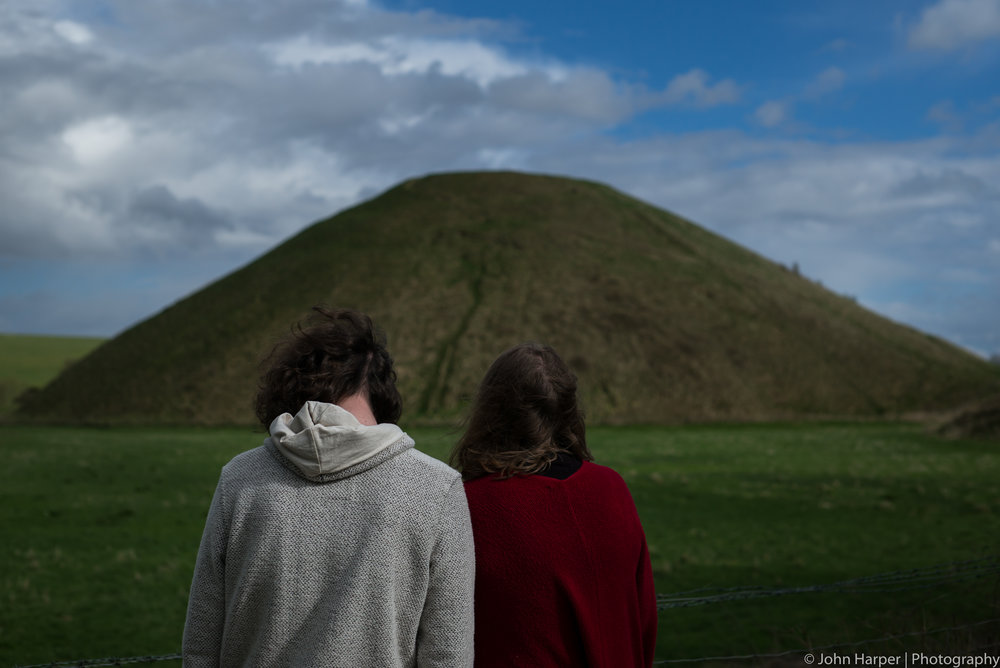 People Viewing A Mound