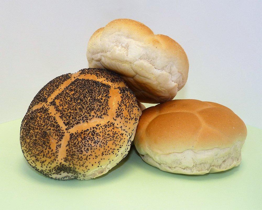 Football Bread Rolls