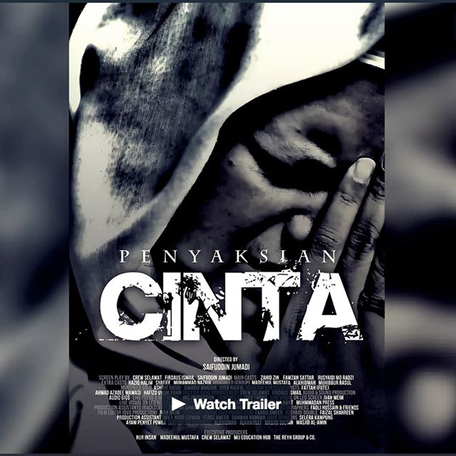 "AVAILABLE FOR STREAMING NOW ON REYHU . ""Penyaksian Cinta"" (Vow Of Love) is a story about the quest of finding true love in the heart of the beloved. The theater was a mixture of Dramatic screenplay by Ustaz Zahid Zin, Ustaz Fawzan Sattar, Rushaidi Radzi accompanied by the outstanding performance by Madeehul Mustafa, Alkhidmah, Muhibbur Rasul, Ashraf Hasni, Iswandi Mansur and other Munsheed from Singapore. .  Find out more on REYHU facebook page."