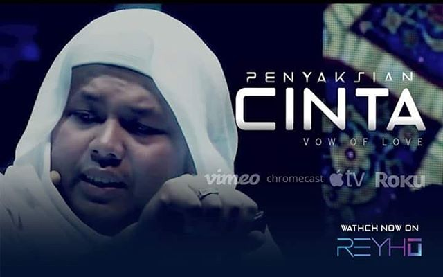 WATCH: Penyaksian Cinta (Vow Of Love) now, Click here to watch it online: http://bit.ly/2FaZpsJ - Apply Promo Code : RVODPC50 And get 50% off your purchase for the first 50 viewers only.