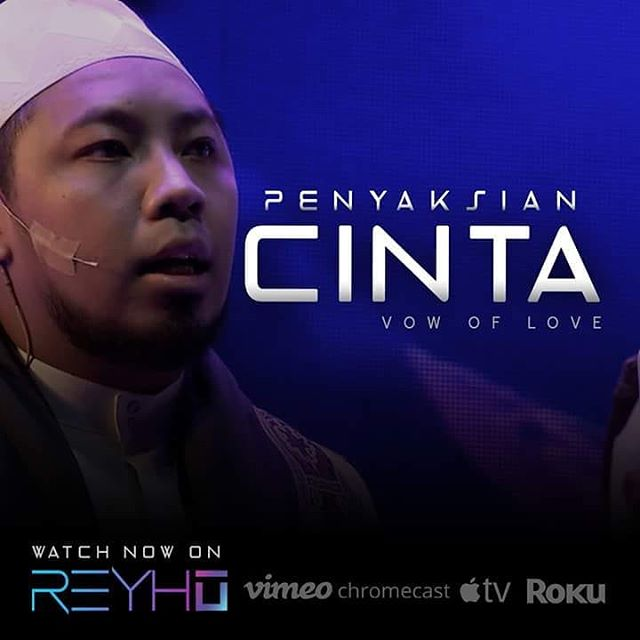 Watch Ustaz Fadli Ayub on Penyaksian Cinta (Vow Of Love) exclusively on REYHU. Apply Promo Code : RVODPC50 (And get 50% off your purchase). http://bit.ly/2FaZpsJ
